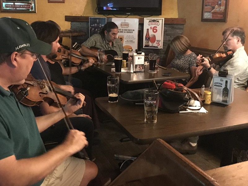 The Every Other Wednesday Session at the Harp and Celt