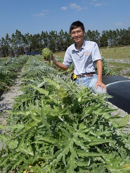 PROFESSOR SHINSUKE AGEHARA (PHOTO COURTESY UNIVERSITY OF FLORIDA)