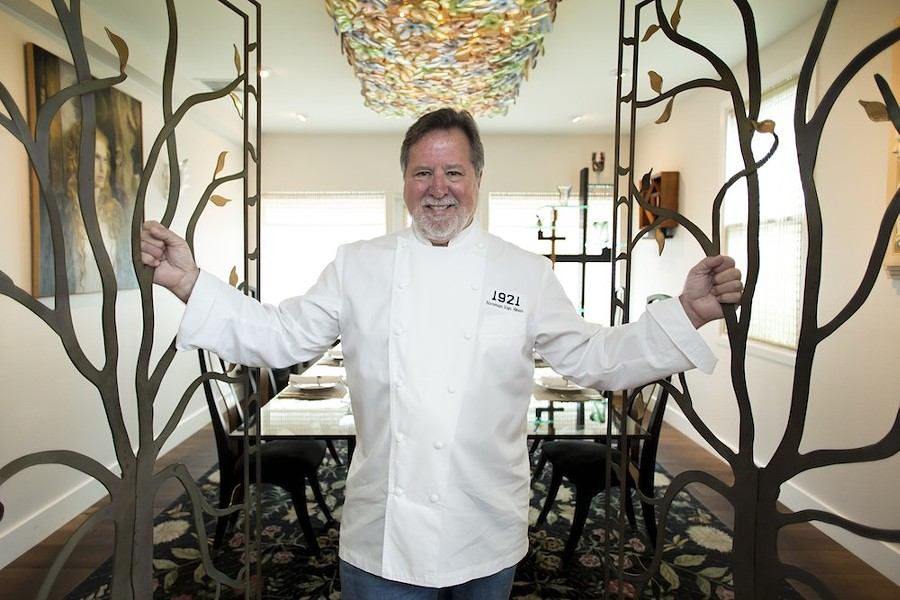 Chef Norman Van Aken opened his Mt. Dora restaurant in June 2016. - ROB BARTLETT
