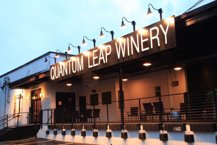 IMAGE COURTESY QUANTUM LEAP WINERY