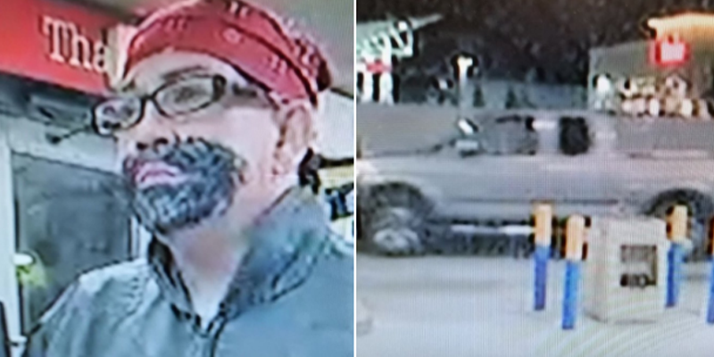 Florida man robs gas station while wearing drawn-on goatee