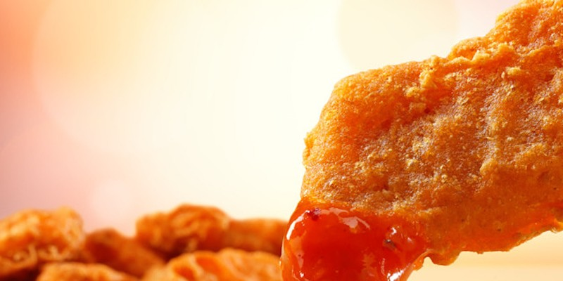 McDonald's is giving away its new spicy McNuggets this weekend