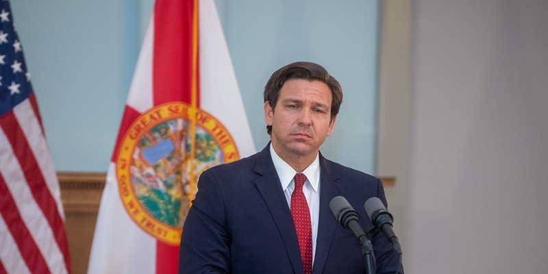 With Florida's COVID-19 death toll over 33,000, Gov. Ron DeSantis gets vaccinated