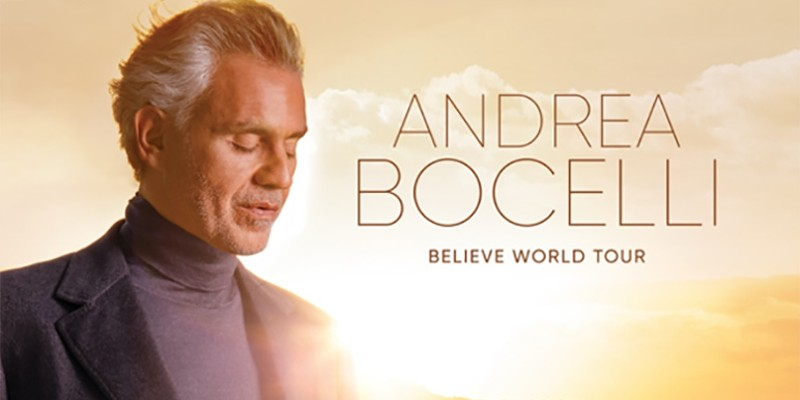 Andrea Bocelli announces Orlando show at Amway Center