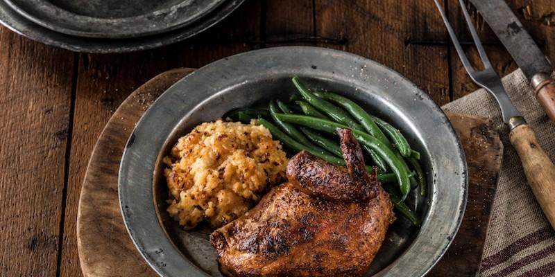 Cowboy Chicken's Quarter Chicken
