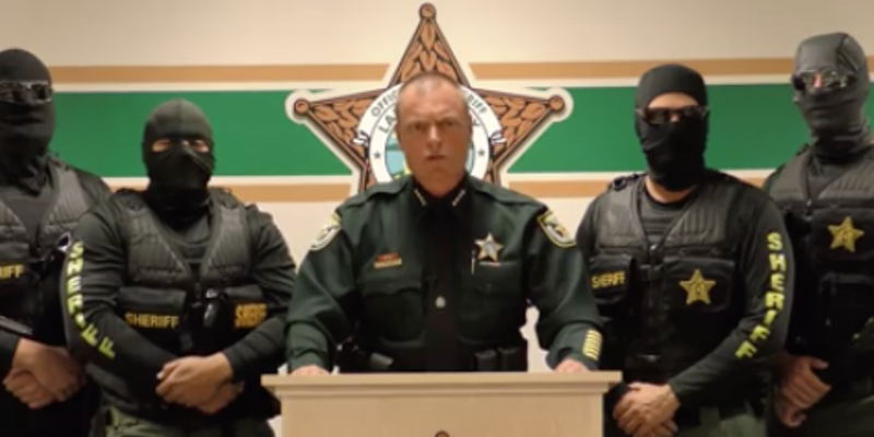 This Florida sheriff looks like a complete idiot | Blogs