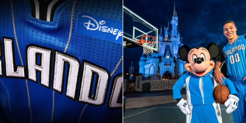 ef9f2ecea76 Orlando Magic signs deal with Disney for jersey patch