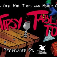 Tipsy Tabletop