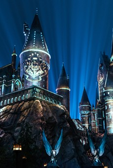 Universal will debut new Harry Potter World projection show this month