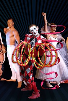 Cirque de la Symphonie provides visual spectacle for movie themes at Bob Carr Theater