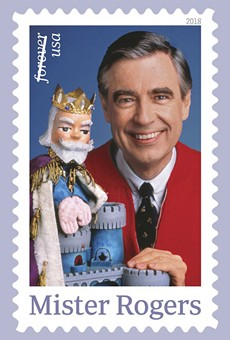 Rollins graduate Mister Rogers will finally get his own stamp