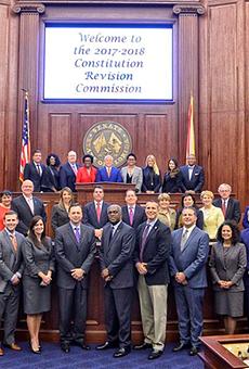 League of Women Voters of Florida demand gun reform at last local CRC public hearing