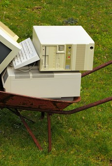 Recycle your old electronics for free this Saturday at Festival Park
