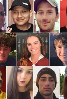 The 17 victims of the Parkland high school shooting.