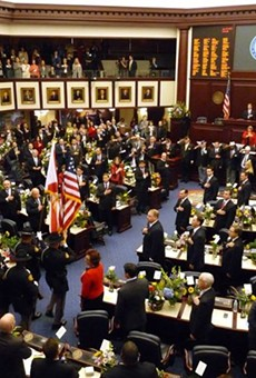 Florida Senate backs armed teachers, rejects assault weapons ban