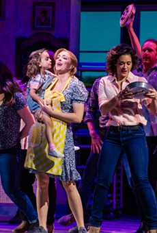 The cast of 'Waitress' at Orlando's Dr. Phillips Center.