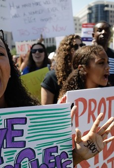 Thousands demand gun reform change at March For Our Lives rally in Orlando
