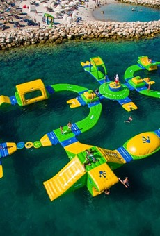 Orlando's first inflatable water park just opened