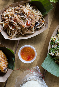 Laotian street food at Sticky Rice offers a dose of familiar, with a flurry of foreign