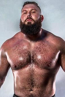 Wrestler Mike Parrow