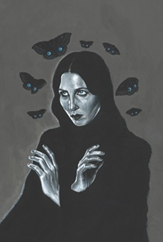 Let Chelsea Wolfe sing you into the abyss