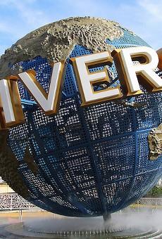 Universal Studios announces a 15 percent growth in theme park revenue