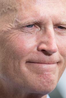 Gov. Rick Scott thinks line item veto power for the president is a great idea