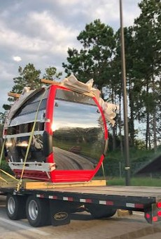 Disney's new Skyliner gondola system just took a major step forward