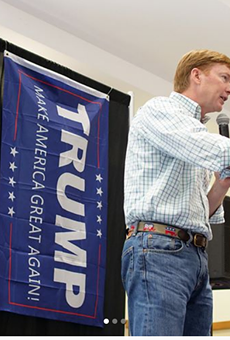 Apparently Adam Putnam's campaign has fallen on hard times