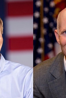 Bill Nelson and Rick Scott are fighting over Florida's election security