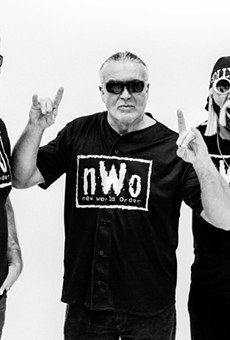 Hulk Hogan says an nWo reunion is coming to Orlando next month