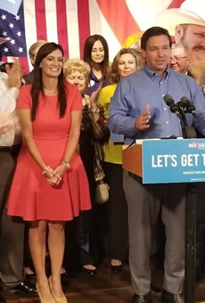 Ron DeSantis picks Jeanette Nuñez as running mate during Orlando GOP rally