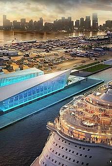 The new PortMiami Royal Caribbean Terminal