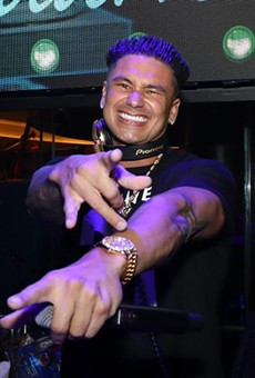 Pauly D from 'Jersey Shore' slides into Gilt for a night of fist-pumping