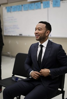 John Legend visits Orlando to push for restoring felon voting rights