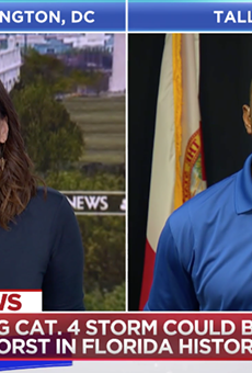 Florida Democrats hammer GOP, DeSantis for running negative Gillum ads during Hurricane Michael