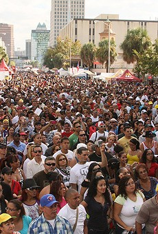 Salsa, merengue and bachata take over downtown during Festival Calle Orange this weekend