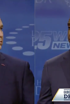 Gillum and DeSantis brawl in fiery final debate of Florida governor's race