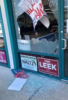 Police investigate shots fired into Volusia County Republican office