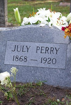 Central Florida remembers 1920 Election Day lynching of July Perry with voting stickers