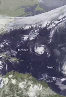 Here's the entire 2018 hurricane season in one stunning timelapse video