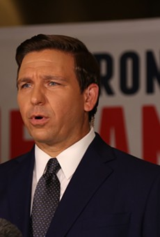 Ron DeSantis is using a plane seized in a drug bust to travel Florida
