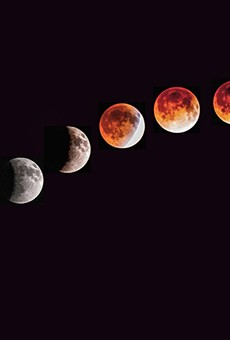 The 'Super Blood Wolf Moon' will be visible over Orlando this weekend