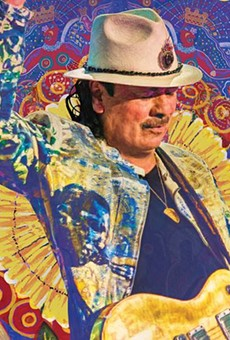Carlos Santana will bring his 2019 tour to Central Florida