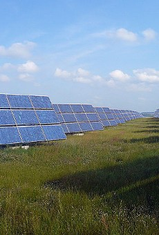Florida Power & Light Company just installed its first solar plant in Volusia County