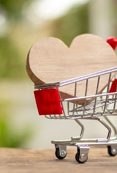 Last minute shoppers get three different options to pick up a Valentine's Day gift this weekend
