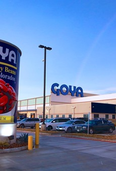 A Goya Foods distribution facility in Texas