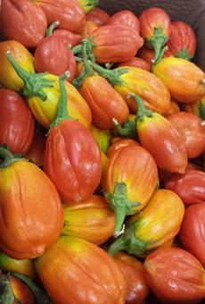 Market report: Clemons Produce has fresh rambutans, neon eggplant