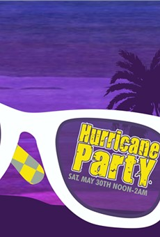 Find a swell time at West End's Hurricane Party with the Movement, Ballyhoo!, Whole Wheat Bread and more