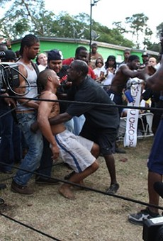Star of Florida documentary Dawg Fight, is now broadcasting live backyard fights online